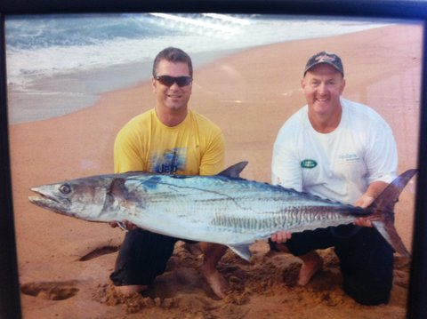 Great catch on North Coast, KZN with Aqua Cat Dinglehopper Turbo!