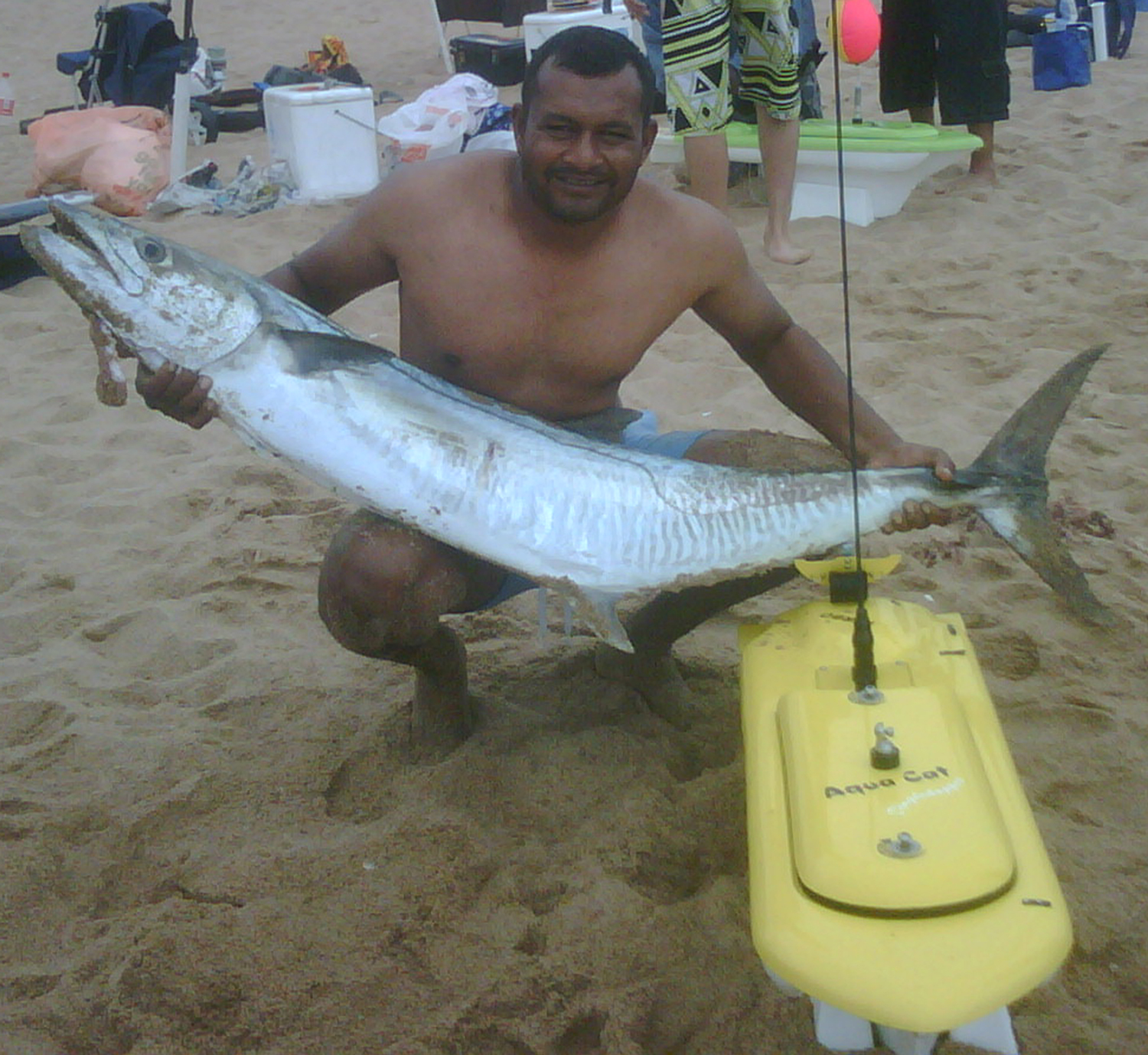 Sanjay is the envy of his friends with this Aqua Cat Couta Catch!
