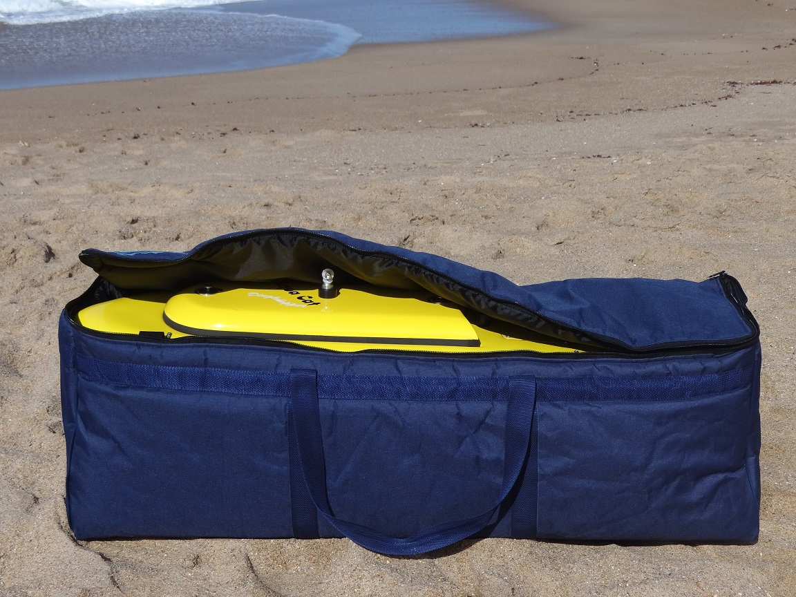 Aqua Cat Boat Bag (Open)